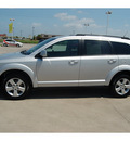 dodge journey 2011 silver mainstreet flex fuel 6 cylinders front wheel drive automatic with overdrive 77642