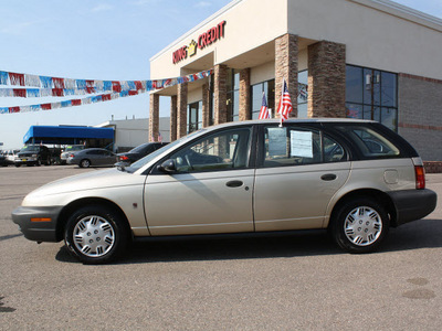 saturn s series 1997 gold wagon sw1 gasoline 4 cylinders front wheel drive 5 speed manual 80229