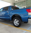 toyota tundra 2007 blue limited 2wd gasoline 8 cylinders 2 wheel drive 6 speed automatic 77521