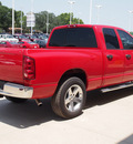dodge ram pickup 1500 2008 red pickup truck slt gasoline 8 cylinders rear wheel drive 6 speed manual 77836