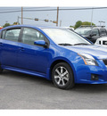 nissan sentra 2012 dk  blue sedan 2 0 sl gasoline 4 cylinders front wheel drive automatic with overdrive 78840