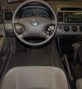 toyota camry 2004 blue sedan le v6 6 cylinders automatic with overdrive 76116