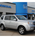 honda pilot 2011 silver suv ex l gasoline 6 cylinders front wheel drive automatic with overdrive 77065
