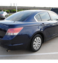 honda accord 2009 blue sedan lx gasoline 4 cylinders front wheel drive automatic 77065