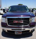 gmc sierra 2500hd 2008 purple sle 8 cylinders automatic 76087