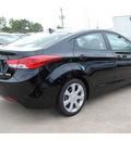 hyundai elantra 2013 black sedan limited gasoline 4 cylinders front wheel drive autostick 77065