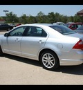 ford fusion 2012 silver sedan sel flex fuel 6 cylinders front wheel drive 6 speed automatic 75142