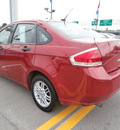 ford focus 2009 red sedan se gasoline 4 cylinders front wheel drive automatic 13502
