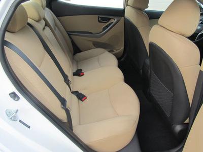 hyundai elantra 2011 white sedan gls gasoline 4 cylinders front wheel drive not specified 77099