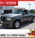 ford ranger 2006 dk  gray stx 6 cylinders rear wheel drive automatic 78006