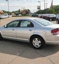 dodge stratus 2005 silver sedan sxt gasoline 6 cylinders front wheel drive automatic 55318