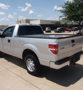 ford f 150 2011 silver xl flex fuel 6 cylinders 2 wheel drive automatic 76049