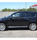 mitsubishi outlander 2012 black se gasoline 4 cylinders front wheel drive automatic 76903