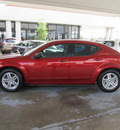dodge avenger 2008 red sedan sxt gasoline 4 cylinders front wheel drive automatic with overdrive 77477