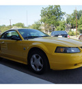 ford mustang 2004 yellow coupe gasoline 6 cylinders rear wheel drive automatic 76513