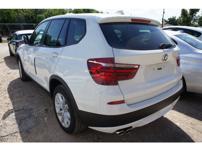 bmw x3 2013 white suv xdrive28i gasoline 4 cylinders all whee drive automatic 78729