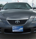 toyota camry solara 2008 dk  gray coupe se gasoline 4 cylinders front wheel drive automatic 77521