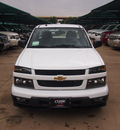 chevrolet colorado 2012 white work truck gasoline 4 cylinders 2 wheel drive automatic 76051