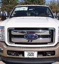 ford f 450 super duty 2012 white king ranch biodiesel 8 cylinders 4 wheel drive automatic 76011