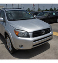 toyota rav4 2007 gray suv sport gasoline 6 cylinders 4 wheel drive 5 speed automatic 77338