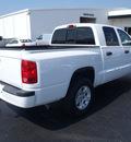 dodge dakota 2007 white pickup truck slt 6 cylinders automatic 28557