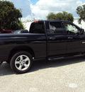 dodge ram 1500 2008 black pickup truck big horn gasoline 8 cylinders rear wheel drive automatic 32901