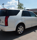 cadillac srx 2008 white suv v6 gasoline 6 cylinders rear wheel drive automatic 76018