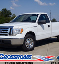 ford f 150 2011 white xl flex fuel 8 cylinders 2 wheel drive automatic 62708