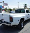 dodge ram 3500 2002 white pickup truck slt diesel 6 cylinders rear wheel drive 6 speed manual 92882