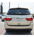 dodge durango 2011 gold suv express gasoline 6 cylinders rear wheel drive automatic 76543