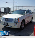 cadillac srx 2008 white suv v6 gasoline 6 cylinders rear wheel drive automatic 75062