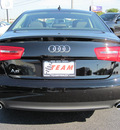 audi a6 2013 black sedan 2 0t quattro premium plus gasoline 4 cylinders all whee drive 8 speed 46410