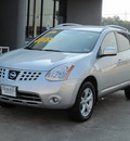 nissan rogue 2008 silver suv sl gasoline 4 cylinders front wheel drive shiftable automatic 77074