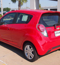 chevrolet spark 2013 red hatchback ls manual gasoline 4 cylinders front wheel drive 5 speed manual 77581