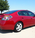 nissan altima 2007 dk  red sedan 3 5 se gasoline 6 cylinders front wheel drive automatic 76018