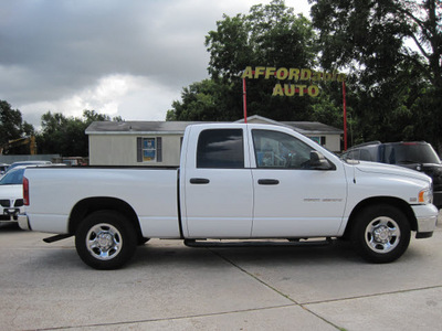 dodge ram 2500 2004 white pickup truck st gasoline 8 cylinders rear wheel drive automatic 77379