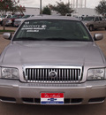 mercury grand marquis 2011 silver sedan ls flex fuel 8 cylinders rear wheel drive automatic 77566