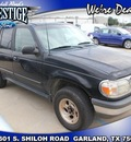 ford explorer 1998 black suv xlt gasoline 6 cylinders rear wheel drive automatic 75041