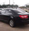 lincoln mkz 2008 black sedan gasoline 6 cylinders all whee drive automatic 77566
