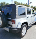 jeep wrangler unlimited 2009 silver suv sahara 6 cylinders automatic 13502