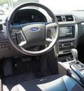 ford fusion hybrid 2012 black sedan hybrid 4 cylinders front wheel drive automatic 75235