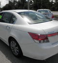 honda accord 2011 white sedan ex l v6 gasoline 6 cylinders front wheel drive automatic 32783