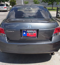 honda accord 2010 dk  gray sedan lx p gasoline 4 cylinders front wheel drive automatic 75034