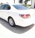 lexus es 330 2004 white sedan gasoline 6 cylinders front wheel drive automatic 77094