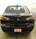 mitsubishi lancer 2010 black sedan es gasoline 4 cylinders front wheel drive automatic 44060
