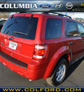 ford escape 2011 red suv xlt gasoline 4 cylinders all whee drive automatic 98632