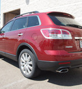 mazda cx 9 2008 red suv grand touring gasoline 6 cylinders all whee drive automatic 80504
