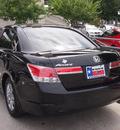 honda accord 2011 black sedan se gasoline 4 cylinders front wheel drive automatic 75034