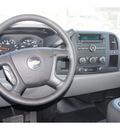 chevrolet silverado 1500 2009 white work truck gasoline 8 cylinders 2 wheel drive automatic 79045