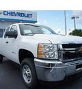 chevrolet silverado 2500 2013 white diesel 8 cylinders 4 wheel drive automatic 33177